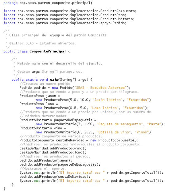 Patrones de diseño en Java: Patrón Composite | Blog SEAS