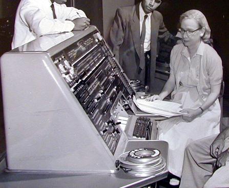 mujer en la informatica