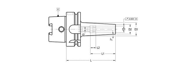 sujecion de herramientas por contraccion termica. diseño mecanico