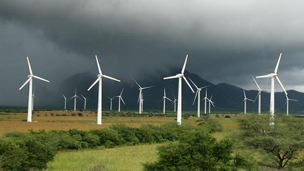 La Ventosa, parque eólico