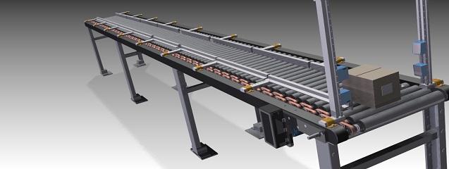 diseño de una cinta transportadora