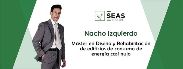 Nacho-Izquierdo alumno seas