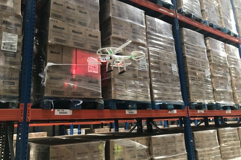 drones para inventarios