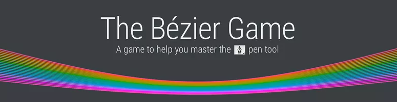 Aprende diseño gráfico jugando - bezier game