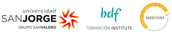 Logos USJ BD y Certificación de Protección de Datos