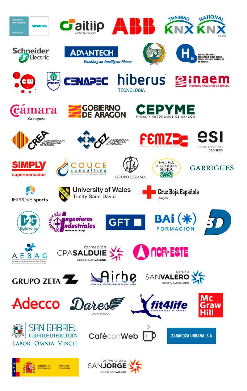 Empresas y entidades colaboradoras de SEAS