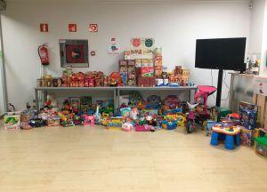 Recogida alimentos y juguetes noticia SEAS