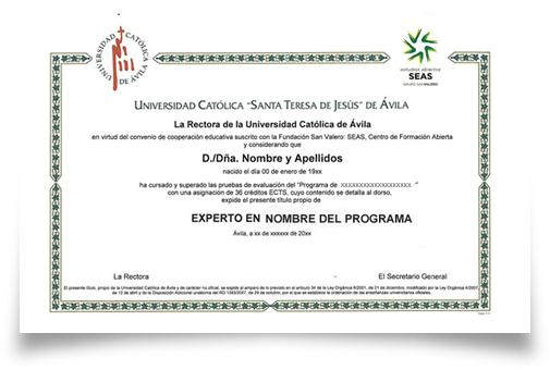 Titulación Expertos UCAV